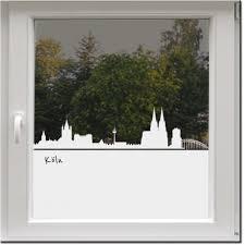 Fensterfolie Köln Milchglasfolie Wecke Design