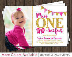 1st Birthday Party Invitation Template Baby First Birthday Invitations Elephant Birthday Party