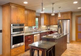 Kitchen Mid Century Modern Island Range Stainless Light Fixtures