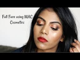 Full Face Using Mac Cosmetics Nc44 Mac Makeup For Brown