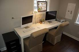 idea office furniture. Attractive Home Office Ideas For Two 17 Best About Throughout 2 Person Desk Prepare Idea Furniture