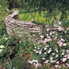 Small Picture Stone wall in the construction of the garden ideas for