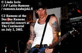 RAMONES: OUR DEAR DEE DEE RAMONE IS AN ANGEL.