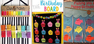 Under The Sea Birthday Chart 25 Awesome Birthday Board Ideas For Your Classroom