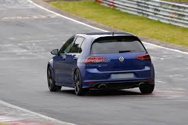 Spyshots: Volkswagen Golf R Mule With Audi RS3 Exhaust Tips ...