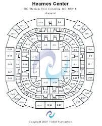 Mizzou Arena Concert Seating Chart Hearnes Center Tickets And Hearnes Center Seating Chart