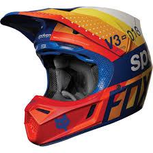 Fox V3 Draftr 2018 Blue Helmet