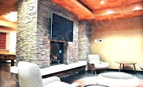 natural stacked stone veneer fireplace stack fireplaces amazing style large inspiration ideas cost