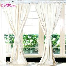 linen tab curtains top lace crochet curtain width valance d hollow window past with diy lined linen tab curtains zoom how to make back lined