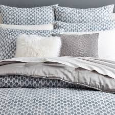 Organic St&ed Dots Duvet Cover + Shams - Moonstone | west elm & Roll Over Image to Zoom Adamdwight.com