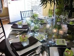 round table setting ideas dining room table place setting