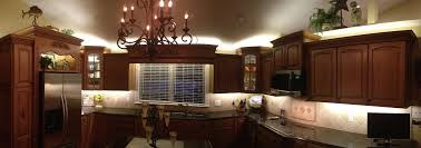 Above Cabinet Lighting Ideas Inspired Led Kitchen Lighting For Above And Under Cabinets
