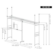 standard coat closet depth of shelf gentle walk in hanger rack cm super wide wa
