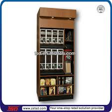 Coffee Shop Display Stands Tsdw100 Custom High Quality Retail Store Display CabinetShop 99