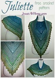 Free Shawl Crochet Patterns Beauteous Juliette Shawl Free Crochet Pattern Jessie At Home