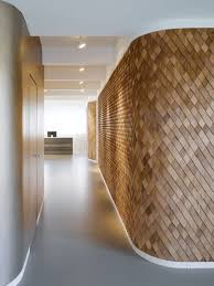 beautiful wooden shingle wall art looks luxurious