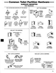 bathroom stall parts. Home Interior: Liberal Toilet Partition Hardware Global Bathroom Stall Latches Restroom Parts From O