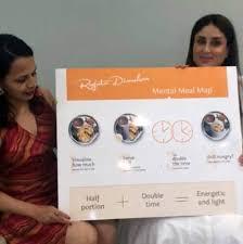 Rujuta Diwekar Food Chart Watch Kareena Kapoor Khan Reveals Her Pregnancy Diet It
