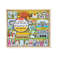 melissa doug wooden castle play set jpg
