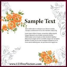 wedding invitation card design vector freevectors net Wedding Card Design Format Wedding Card Design Format #15 wedding card design format coreldraw