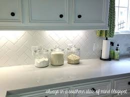 herringbone kitchen backsplash kitchen with white herringbone subway tile from always in a southern state of mind blog