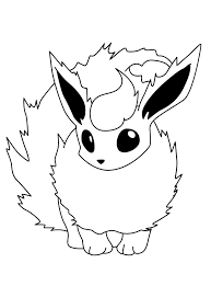 Small Picture Printable Pokemon Coloring Pages Eevee Evolutions 3273 Free