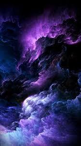 purple space wallpaper iphone x