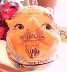 vintage choppers and specs false teeth and by vintageglassescape