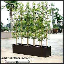 artificial outdoor plants trees uk and agave bamboo modern planters unlimited