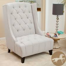 Overstock Living Room Chairs Miles Tall Wingback Accent Chair By Christopher Knight Home By