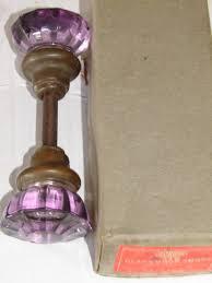 Robinsons Antique Hardware glass door knobs