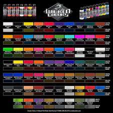 Anzahl Urethane Paint Color Chart House Painting Paint Colors Nisartmacka Com