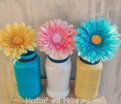 Painted Mason Jars Painted Mason Jars Meatloaf And Melodrama