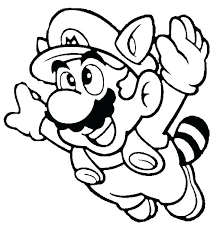 Super Mario Printable Coloring Pages At Getdrawingscom Free For