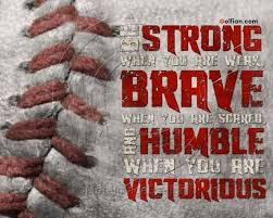 Baseball Quotes Unique Famous In Life Baseball Quote Make The Person Strong Golfian