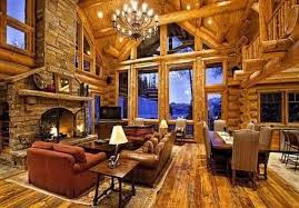 Log Cabin Homes Interior