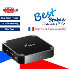 Meilleur français <b>IPTV</b> boîte X96 mini <b>Android</b> TV boîte avec 1200 + ...
