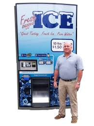 Used Ice Vending Machine For Sale New IM48 Ice Vending Machine Kooler Ice