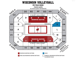 University Of Wisconsin Online Ticket Office Seating Charts