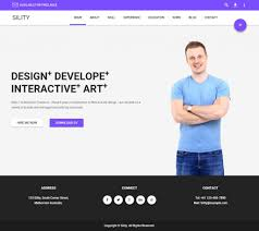 Resume Website Template Bootstrap Resume Template Twitter Website Theme Free Best Of 60