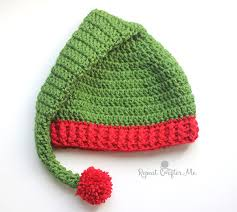 Elf Hat Pattern Delectable Crochet Elf Hat Pattern Repeat Crafter Me