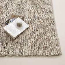 wool area rugs mini pebble wool jute rug natural ivory west elm bxnvqqa