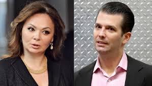 Image result for Pictures of Natalia Veselnitskaya and Trump Jr