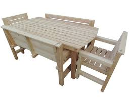 outdoor furniture sets wooden garden