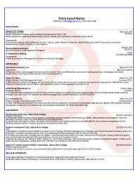 Example Of Entry Level Resume Best Of Entry Level Consultant Sample Zoomdojo How To Write A R Sevte