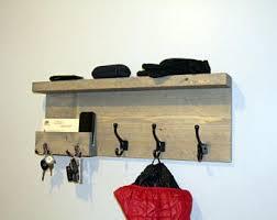 Key Coat Rack Entryway Coat Rack Mail Storage Coat Hooks and Key Rack Wall 11