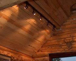 log cabin lighting ideas. brilliant ideas i like this lighting idea log cabin  throughout lighting ideas