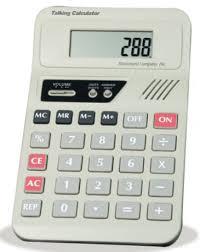 Calculator Storage Pocket Chart Cadan Assistive Technologies