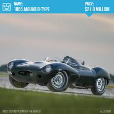 expensive cars with price. 7 - 1955 jaguar d-type most expensive cars in the world price alux with