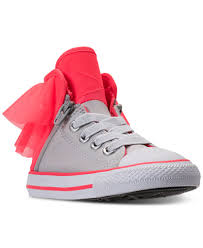 converse shoes high tops for girls. converse toddler girls\u0027 all star block party high top casual sneakers from finish line shoes tops for girls
